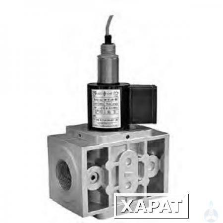 Клапан электромагнитный ВН3/4Н-6П двухпозиционный муфтовый c датчиком положения
